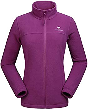 CAMEL CROWN Women Full Zip Fleece Jackets
