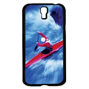 Red and Blue Kiyaking Water Sport Art Hard Snap on Phone Case (Galaxy s4 IV)