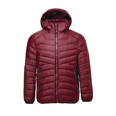 Off Season Sale! Women's Ultralight Down Jacket with Hood Unisex Style: Clothing