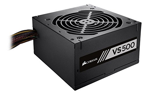 CORSAIR VS Series, VS500, 500 Watt, 80+ White Certified, Non-Modular Power Supply (500 Power Supply Cx)