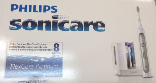 Philips Sonicare Flexcare PLATINUM With Sanitzer Series 8 HX9141/10 by FlexCare