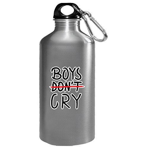 Boys Don't Cry Boys Are Strong Emotionally Stay Cool - Water Bottle