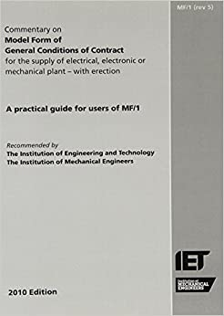 Commentary on Model Form of General Conditions of Contract: MF/1 - Revision 5