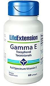 Life Extension Gamma E Mixed Tocopherols & Tocotrienols 60 Softgels