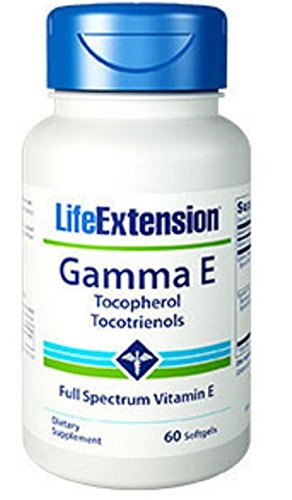 Life Extension Gamma E Mixed Tocopherols & Tocotrienols 60 Softgels