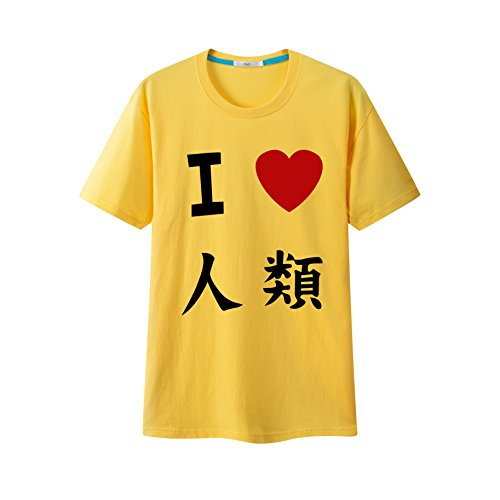 [F&C No Game No Life Anime Sora T-shirt Short Sleeve Cosplay Costume (L)] (Costumes F)