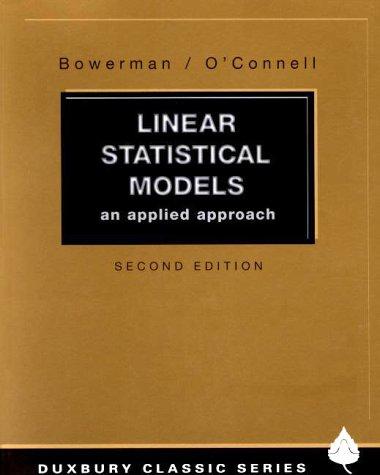 linear statistical models - 4