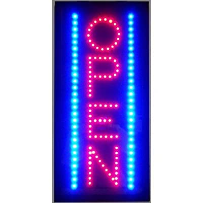 Neonetics 5OVLED Open Vertical LED Sign