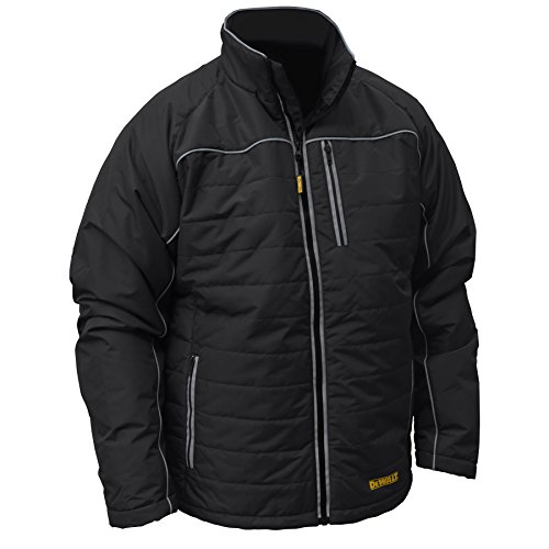 DEWALT DCHJ075B-S Quilted Heated Work Jacket, Small, Black by Radians (Image #1)