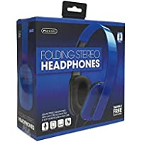Sentry In-line Mic Folding Stereo Headphones DLX22 by Sentry