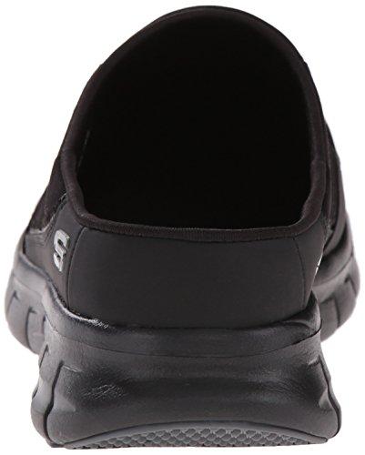 Skechers Da Donna Sportiva Streamer Aria Slip-on Nero Mulo