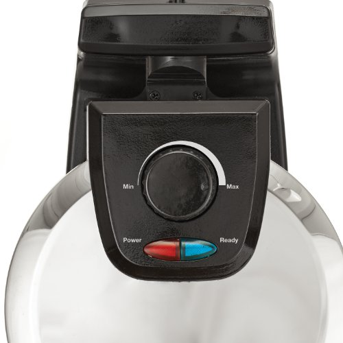 BELLA 13991 Classic Rotating Belgian Waffle Maker, Polished Stainless Steel by BELLA (Image #1)