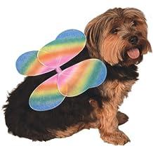 Rubie's Pet Rainbow Costume Wings, Medium to Large