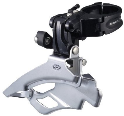 Shimano Deore 9 Speed Mountain Bicycle Front Derailleur FD M591