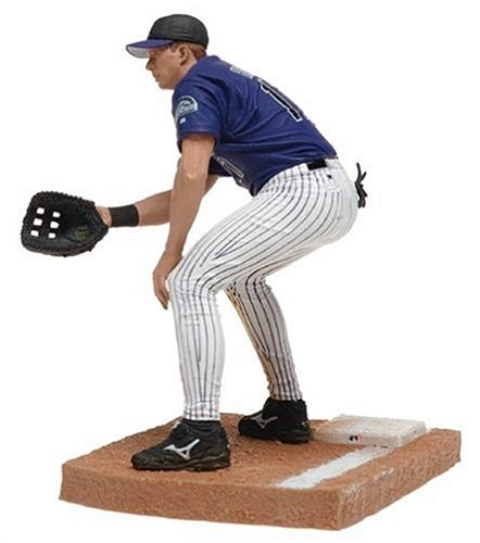 - MLB Series 9 Figure: Todd Helton with Blue Colorado Rockies Jersey & White Pinstriped Pants