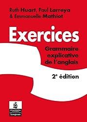 Exercices Grammaire explicative de l'anglais