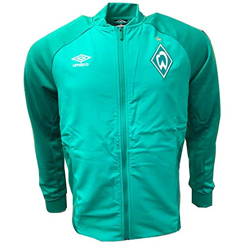 (Umbro 2018-2019 Werder Bremen Walkout Jacket (Green))
