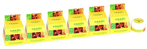 Vaadi Herbals Anti Acne Skin Cream. Reduces The Apperance Of