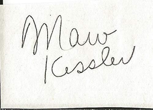 (Coach Marv Kessler Signed Vintage Album Page - JSA Certified)