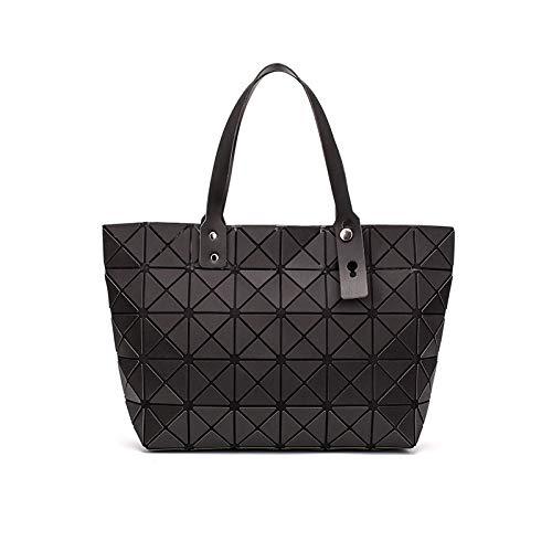 1 Luminous sac bao Bag Diamond Tote Geometric Quilted Shoulder Bags Laser Plain Folding Handbags bolso