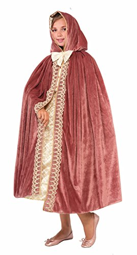 Costumes Velvet Princess Pink (Forum Royal Princess Child Cape, Mauve)