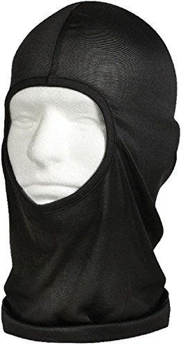 Black Tactical Military Polyester One Hole Lightweight Balaclava Ski Mask