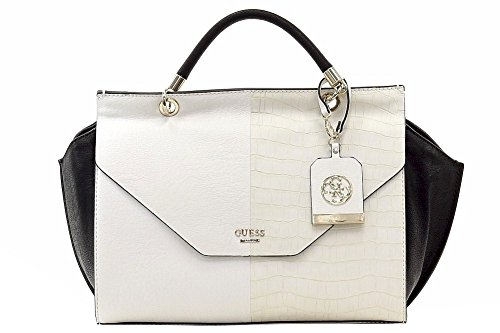 GUESS TASCHE - Casey - Top Handle Flap - Chalk Multi
