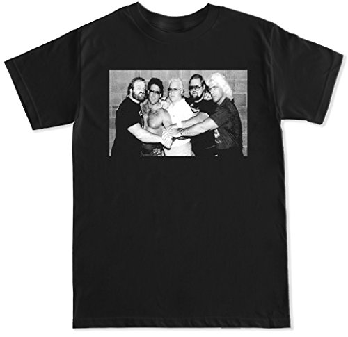 FTD Apparel Men's Four Horsemen T Shirt - XL Black