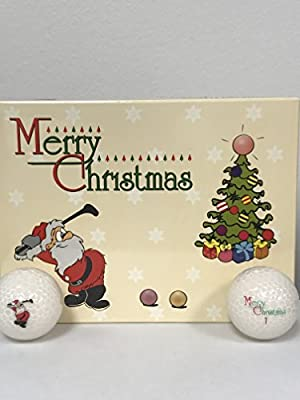 Volvik Merry Christmas Golf Balls