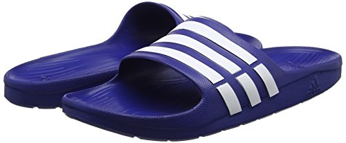 Bleu true Blue Adidas Mixte Duramo Chaussures amp; Piscine true 0 Adulte white Slide De Blue Plage PRPzTrvqn