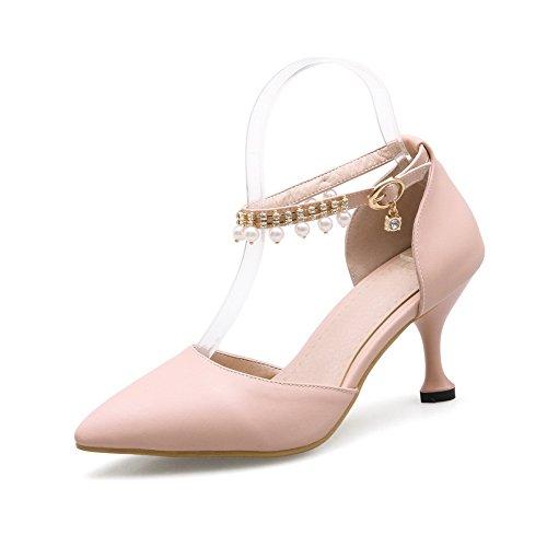 Sandales SLC04115 AdeeSu Femme Compensées Rose 57w0q1wUS