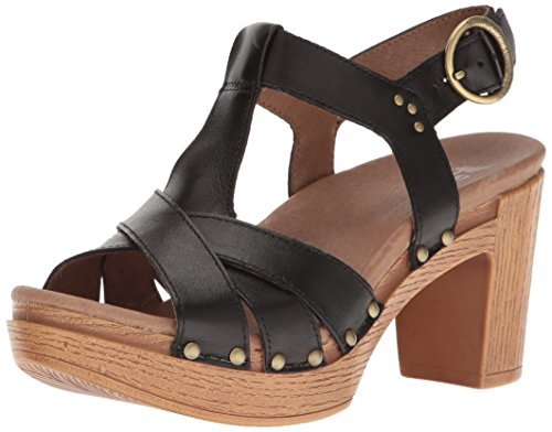 ebay cheap online Dansko Women's Daniela Heeled Sandal Black Full Grain perfect sale online w0lzmv