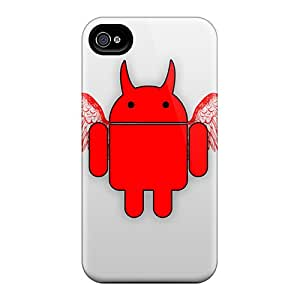 New Cute Funny Androiddevil Hd Cases Covers/ Iphone 6 Cases Covers