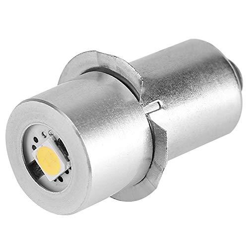 (SODIAL 1W P13.5S Led Flashlight Bulb, 100~110LM 2700~7000K Replacement Bulb Torch Lamp Emergency Work Light(9V))