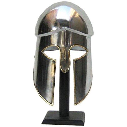 Handtooled Handcrafted Greek Corinthian Armor Helmet