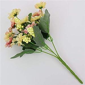 MARJON FlowersCharming Fake Little Daisy Artificial Flower 1 Bouquet for Wedding Home Decoration 117