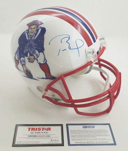 Steiner Memorabilia - TOM BRADY Autographed New England Patriots Throwback Full Size Replica Helmet Limited Edition 12 of 12 STEINER/TRISTAR