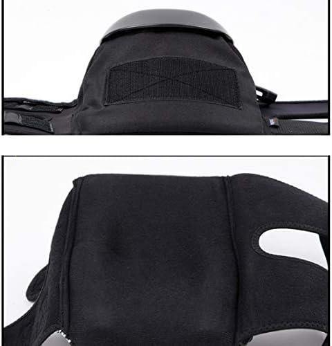 LilyAngel オートバイのスケート膝パッド大人の通気性調節可能なアラミド繊維モトクロスMTBサイクリングスケートのための新警備員 (サイズ : M)