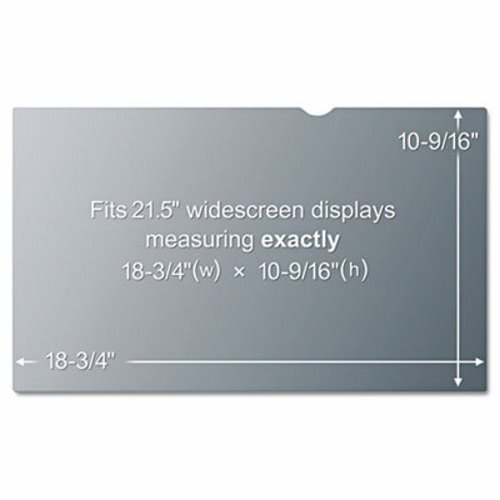 3M - Blackout Frameless Privacy Filter for 21.5'' Widescreen LCD Monitor, 16:9 PF215W (DMi EA