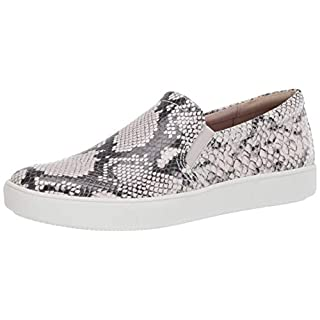 Naturalizer Women's Marianne Sneakers, Alabaster Snake, 4.5 M US