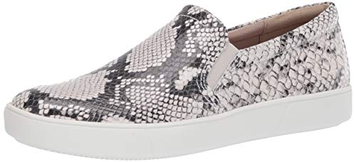 Naturalizer Women's Marianne Sneakers, Alabaster Snake, 11 W US