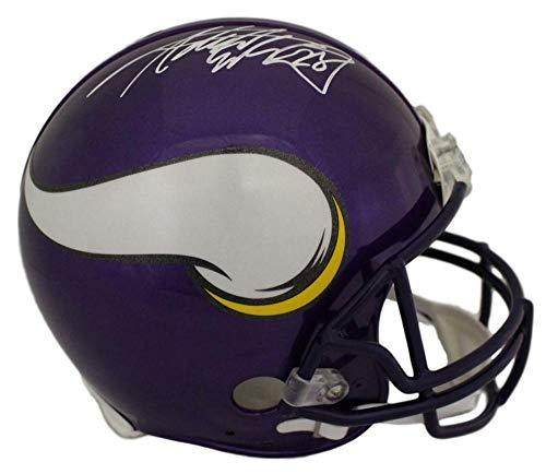 - Adrian Peterson Autographed/Signed Minnesota Vikings Proline Helmet JSA