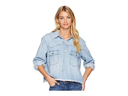 Levi's¿ Premium Women's Long Sleeve Addison Shirt Your Best Shot X-Small
