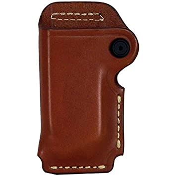 BLACKHAWK Leather Magazine Pouch Single Stack Brown All Mesmerizing Blackhawk Single Stack Magazine Holder