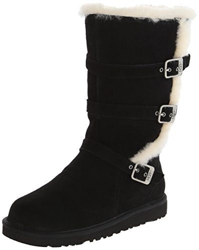 ugg-australia-maddi-youth-us-6-black-winter-boot