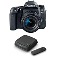 Canon EOS 77D DSLR with EF-S 18-55mm F4-5.6 IS STM Lens - With Canon Connect Station CS100