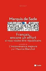 Français, encore un effort si vous voulez être républicains : Précédé de L'inconvenance majeure