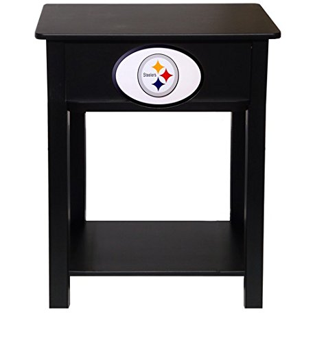 Fan Creations N0533-PIT Pittsburgh Steelers Nightstand/Side Table by Fan Creations (Image #1)
