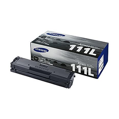 Samsung MLT-D111L - Cartucho de tóner, 1800 páginas, color negro ...