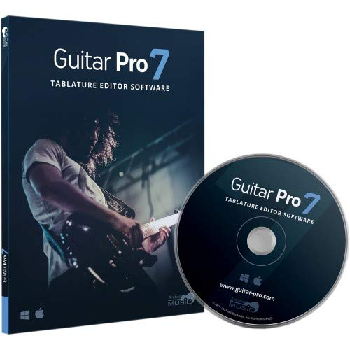Guitar Pro 7 - Tablature and Notation Editor, Score Player, Guitar Amp and FX Software by Arobas Music